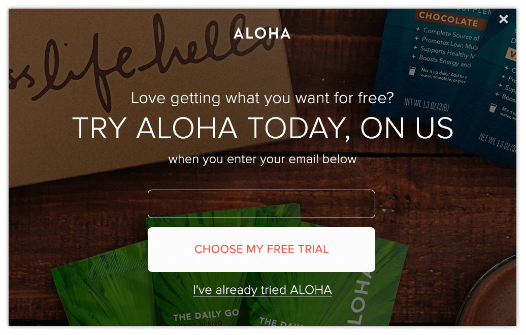 FREE ALOHA Trial Kits (Pay Shi...
